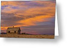 Little House On The Colorado Prairie 2 Greeting Card by James BO  Insogna