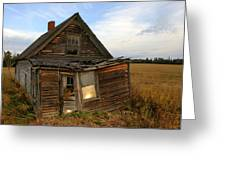 Little House On The Prarie Greeting Card