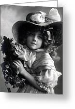 Little Lady Greeting Card
