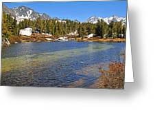 Little Lakes Valley Greeting Card