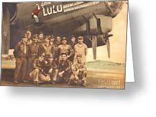 Little Lulu Crew Greeting Card