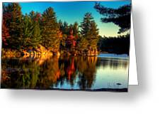 Little Mellon Lake One Greeting Card