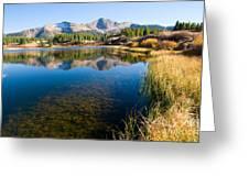 Little Molas Lake Greeting Card