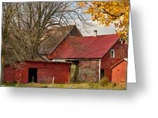 Little Red Farm Greeting Card