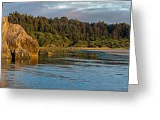 Little River Panorama Greeting Card