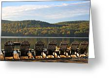 Little Squam Relax 1 Greeting Card