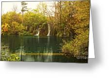 Little Waterfall Greeting Card