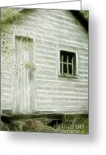 Little White Building Onaping Greeting Card