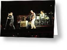 Live Concert Shot Greeting Card