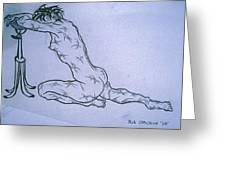 Live Nude Female No. 51 Greeting Card