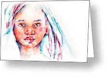 Live To Dream ... Children Of The World Greeting Card