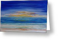 Lively Seascape Greeting Card