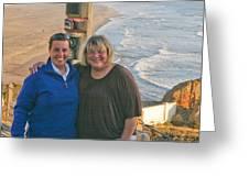 Liz And Karen Greeting Card