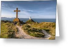Llanddwyn Island Greeting Card