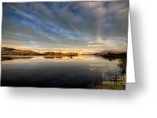 Llyn Trawsfynydd - October 2012 Greeting Card