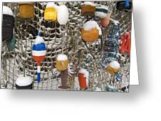 Lobsta Snow Net Greeting Card