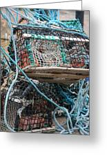 Lobster Pot Greeting Card