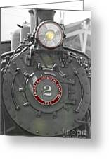 Locomotive 2 Greeting Card