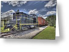 Locomotive II Greeting Card