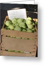 Lodi Apples Greeting Card