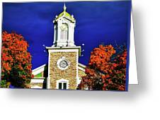Logan Utah Lds Tabernacle Greeting Card