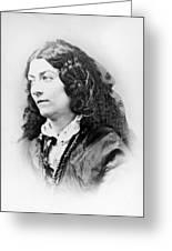 Lola Montez (1818-1861) Greeting Card