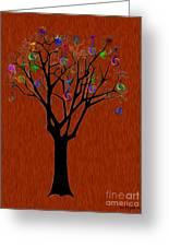 lollipop Tree Greeting Card
