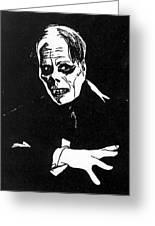 Lon Chaney As The Phantom Greeting Card