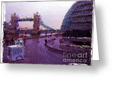 London - England Greeting Card