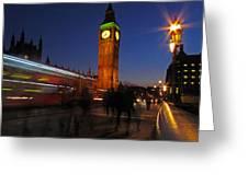 London 3 Greeting Card