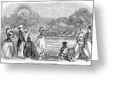 London: Archery, 1859 Greeting Card