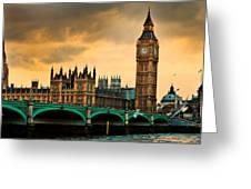 London - Big Ben And Parliament Greeting Card