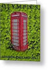 London Calling 2012 Greeting Card