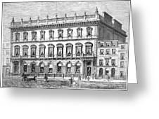 London: Carlton Club, 1868 Greeting Card