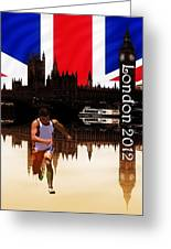 London Olympics Greeting Card by Sharon Lisa Clarke