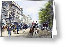 London: Piccadilly, 1895 Greeting Card