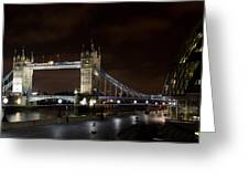 London Southbank View Greeting Card