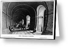 London: Thames Tunnel Greeting Card