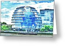 London's City Hall Greeting Card