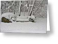 Lonely In Winter Greeting Card