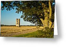 Lonely Silo 4 Greeting Card
