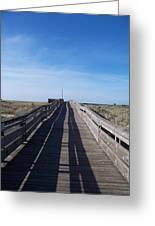 Long Beach Boardwalk Greeting Card