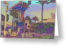 Long Beach Pike Greeting Card