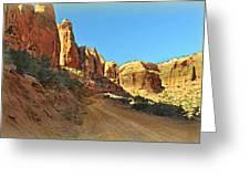 Long Canyon 1 Greeting Card