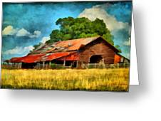 Long Road Barn Greeting Card