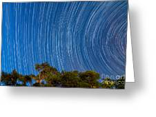 Long Trails Greeting Card