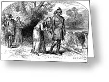 Longfellow: Hiawatha Greeting Card