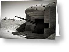 Longues-sur-mer German Battery Greeting Card