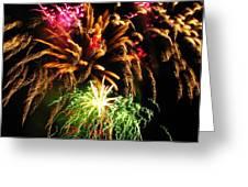 Longwood Fireworks Greeting Card