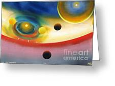 Look Into Deep Space 56 Greeting Card